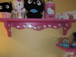 Hello Kitty Sassy Shelves with tutorial from Tracy's Treasury! Featured Reader: Sandra R