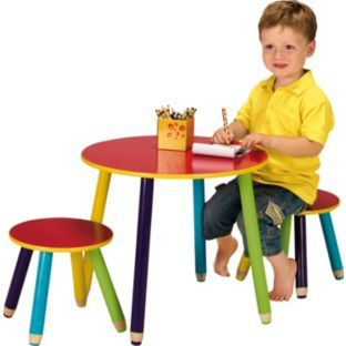 buy pencil kids table and 2 stools at argos co uk your online shop