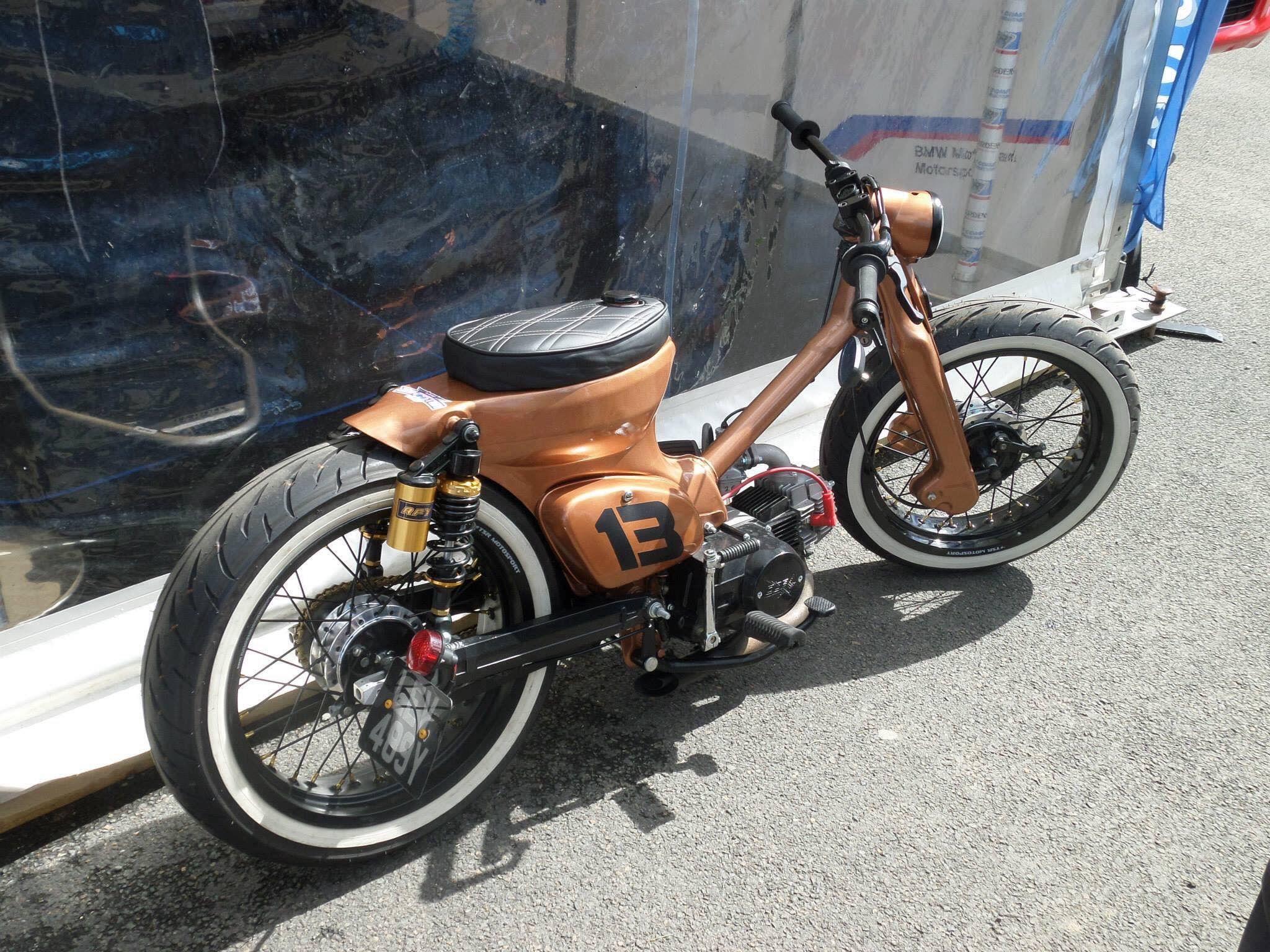 Custom Honda Ct Not Your Average Postie Bike Cafe Racers