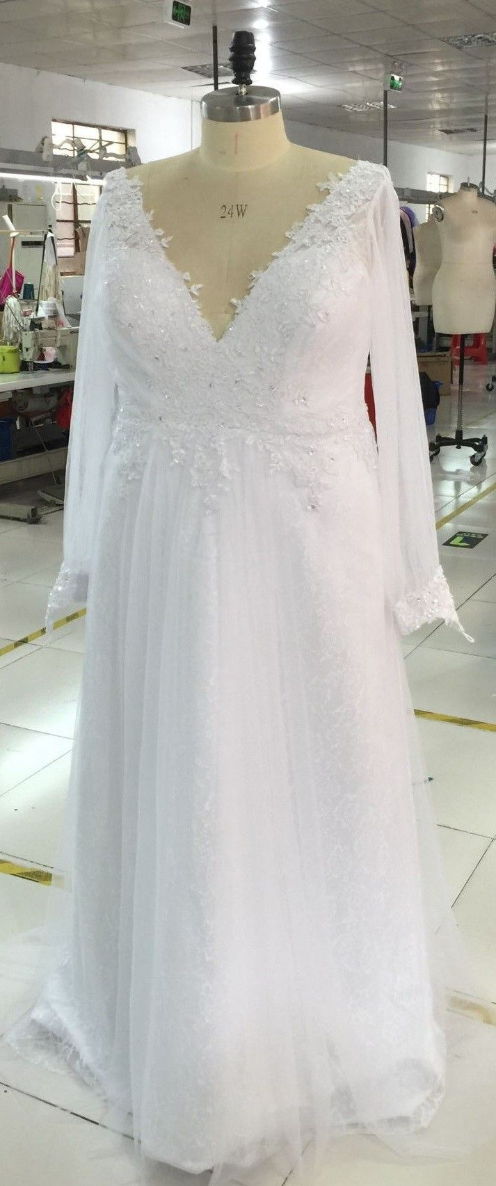 Plus size long dresses for wedding  Plus Size Bridal Dresses with long sleeves by Darius Bridal  Bridal