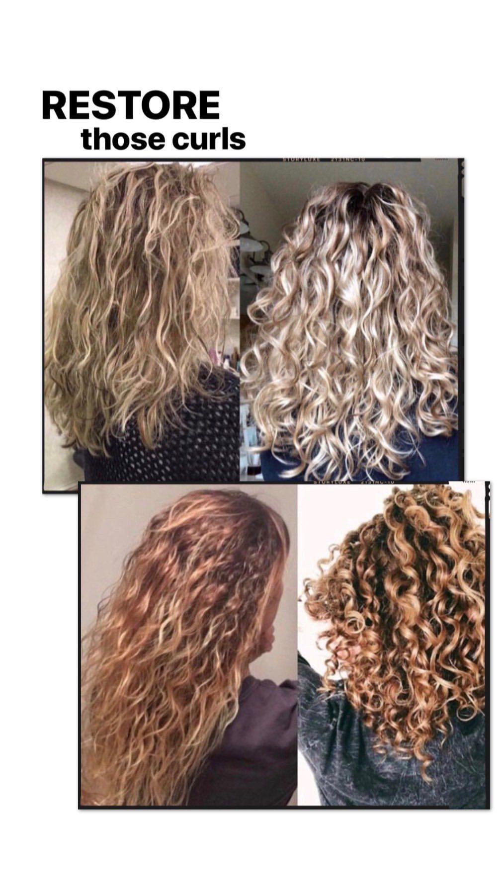 Hair Quiz Hair Treatment Damaged Curly Hair Treatment Monat Hair