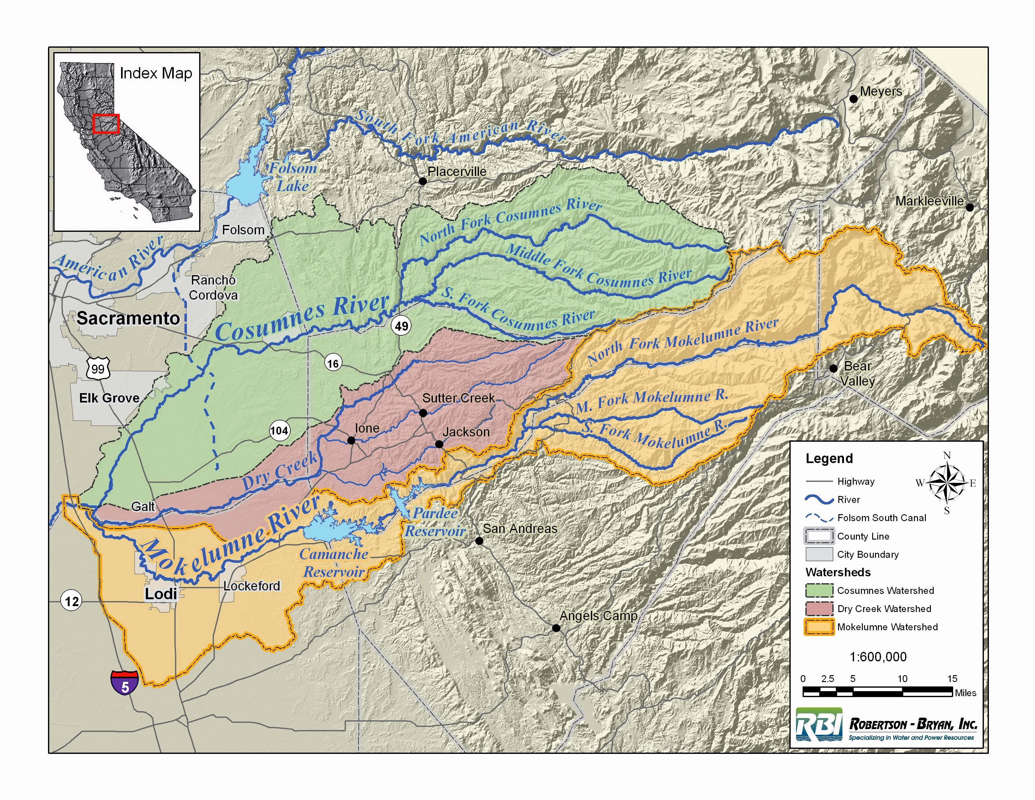Mokelumne River Map Google Search California Maps Pinterest - America map with rivers