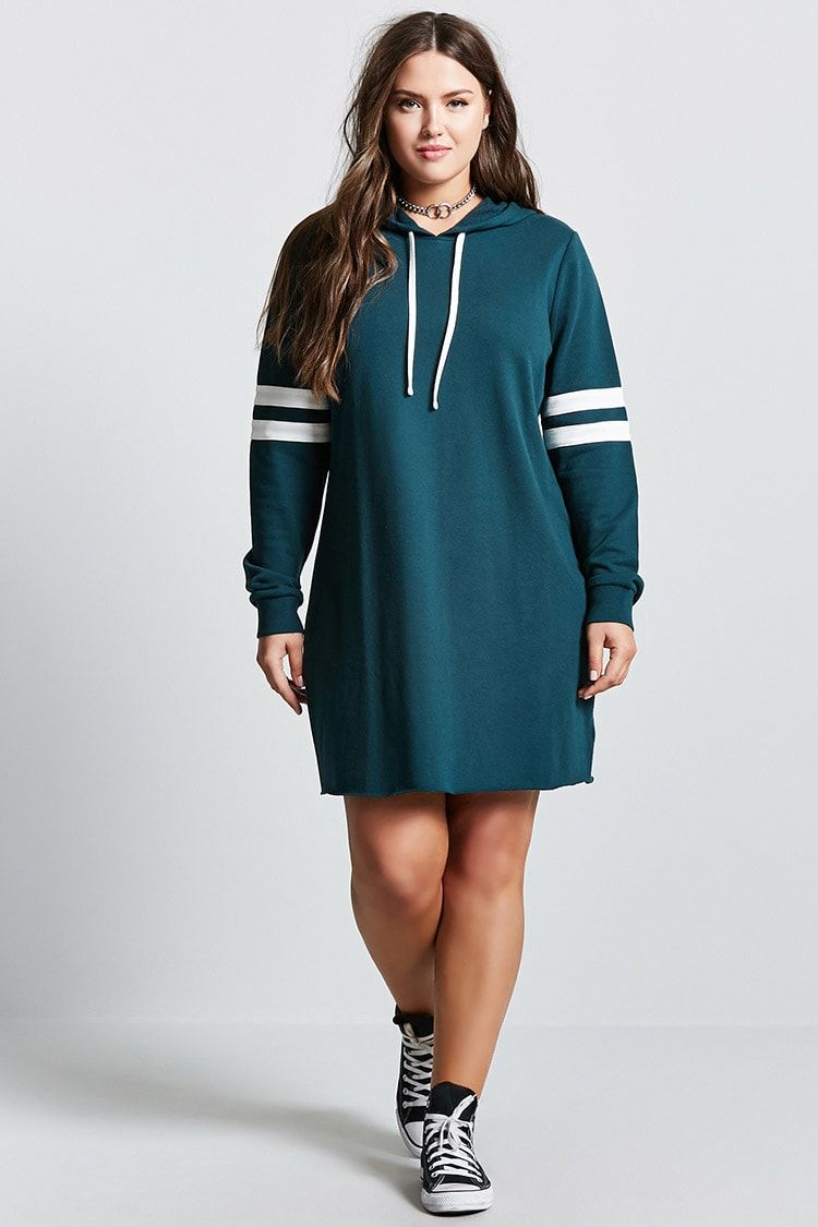 Plus Size Sweatshirt Dress - Plus Size - 2000139756 - Forever 21 ...