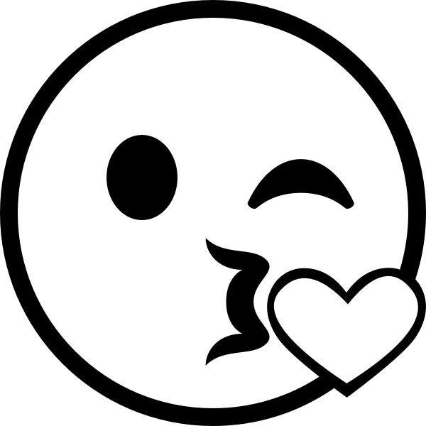 Ausmalbilder Emoji Kuss 39845732475 Kiss Kuss Love Funny