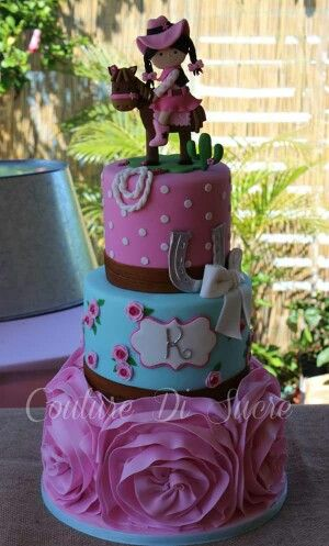 Pleasant Cowgirl Cake With Images Horse Birthday Cake Cowgirl Cakes Funny Birthday Cards Online Alyptdamsfinfo