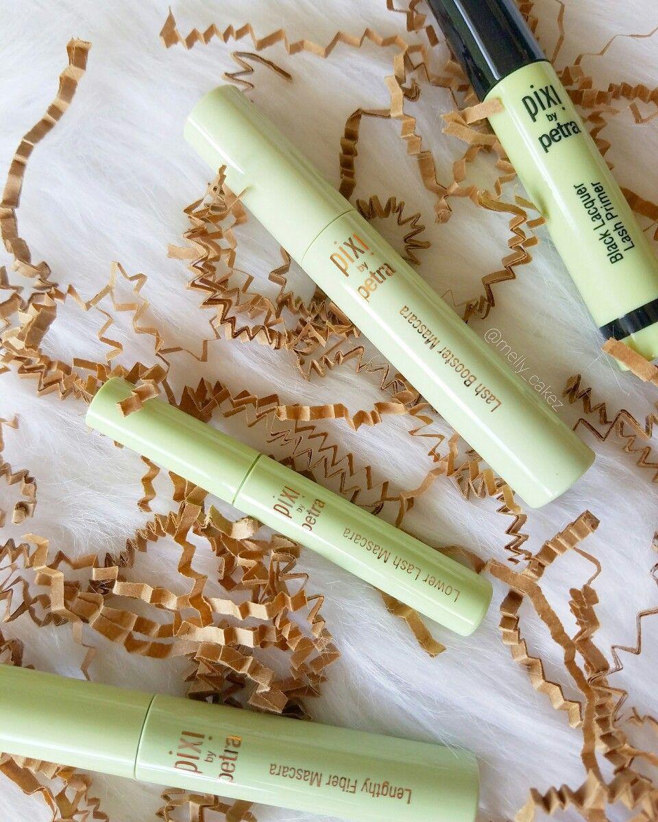 IG: @melly_cakez New Pixi Beauty layering mascaras #mascara #lashes #longlashes #voluminous #makeup