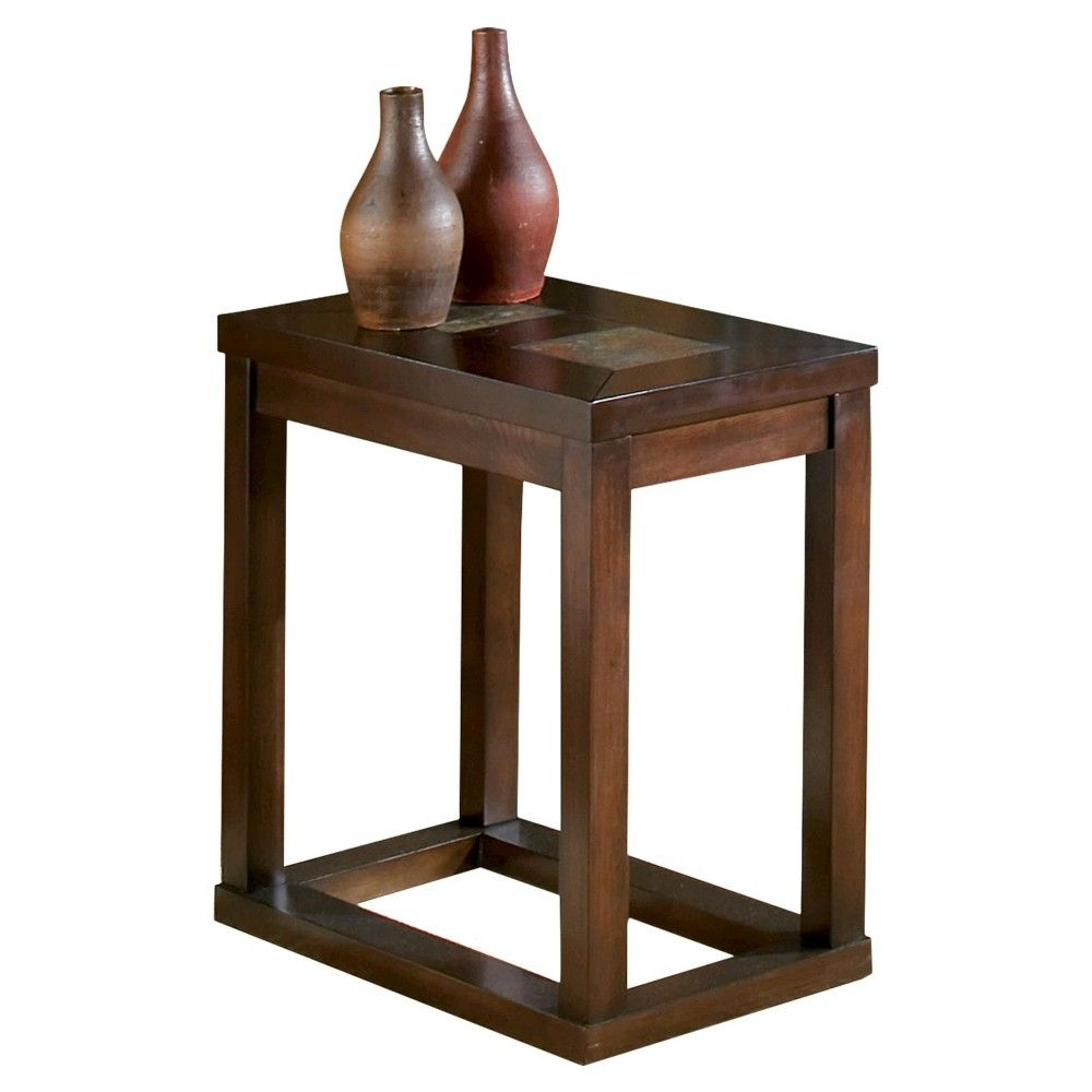 Temple Chairside End Table Brown - Steve Silver Co.