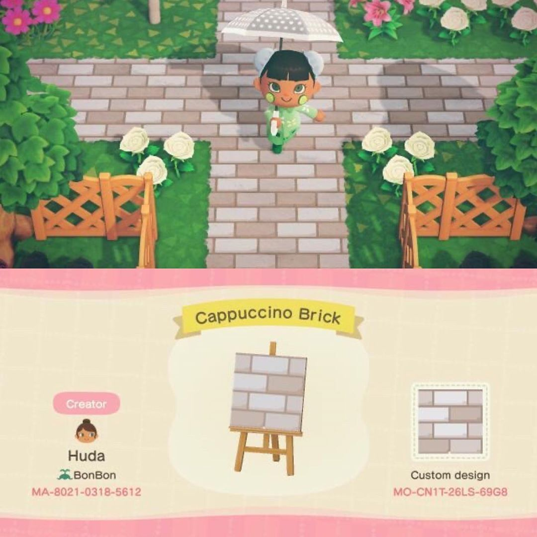 "Animal Crossing Codes & Junk on Instagram: ""🌿🖤some lovely path designs made by @acnh.posh 🖤🌿 . . .  #animalcrossing #animalcrossingnewhorizons #newhorizons #acnh #acnl…"""