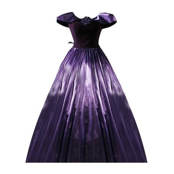 Partiss Women Bowknot Floor-lenth Lolita Dress ($95) ❤ liked on Polyvore featuring dresses and purple dress