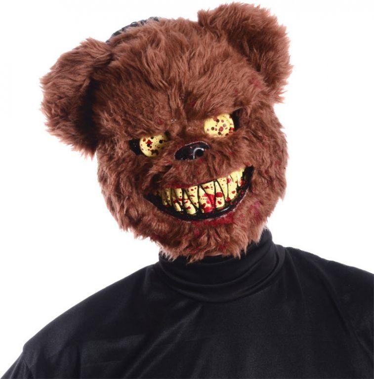 ted deady bear mask - Creepy Masks For Halloween