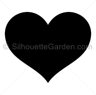 Heart Silhouette Silhouette Clip Art Silhouette Art Silhouette
