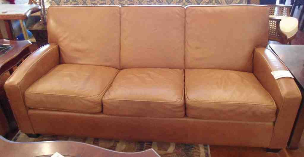 Attirant Ethan Allen Leather Sofa Reviews