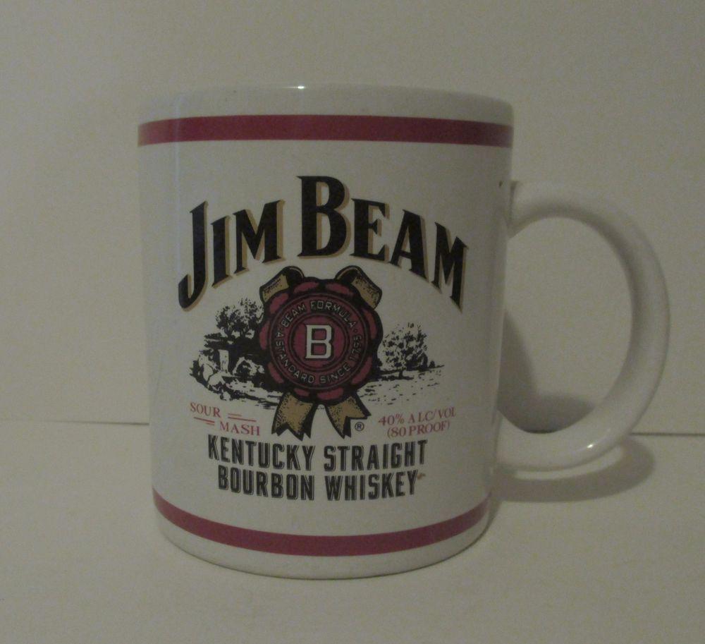 Jim Beam Coffee Mug Kentucky Bourbon Mugs, Jim beam