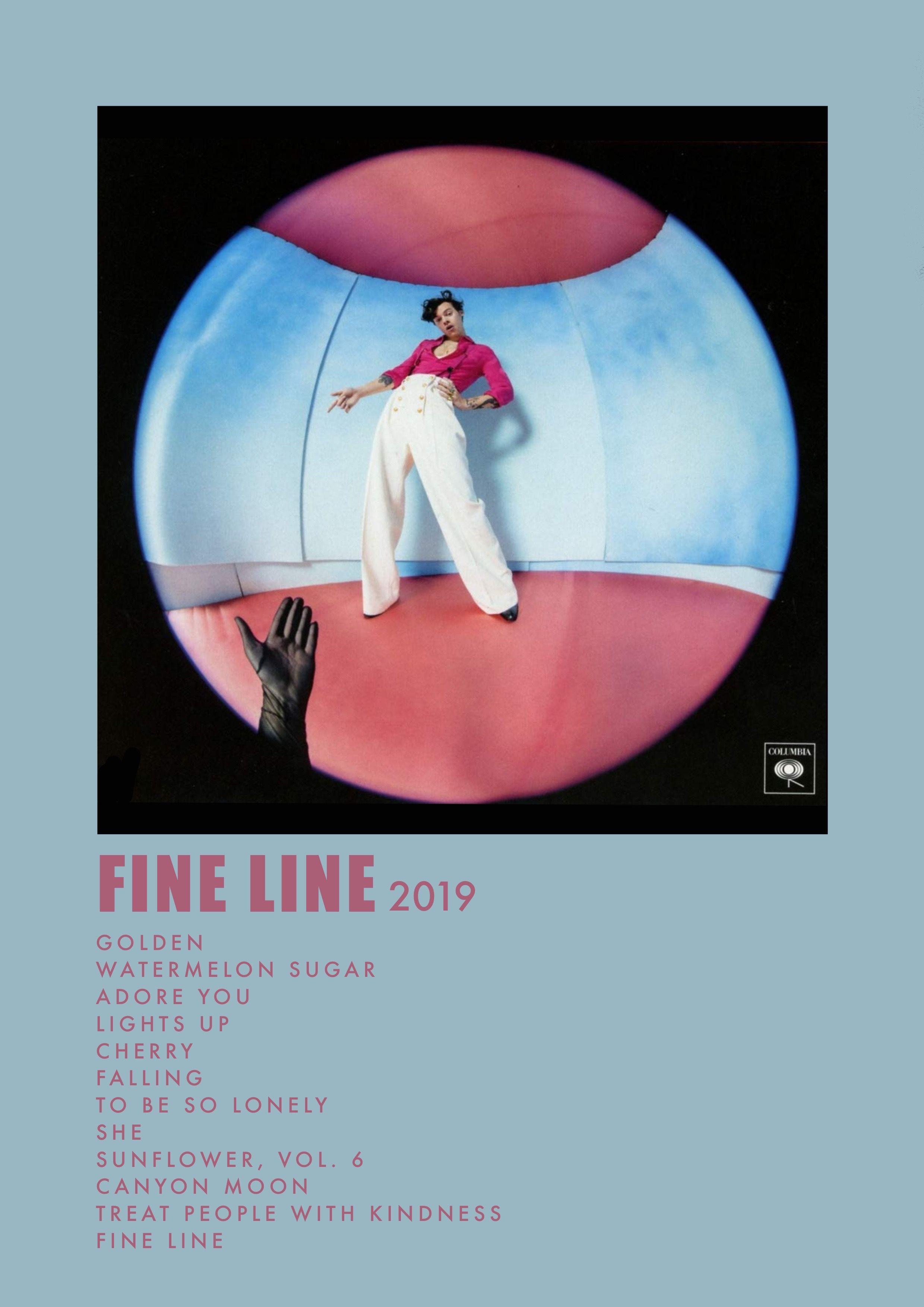Fine Line Album Print