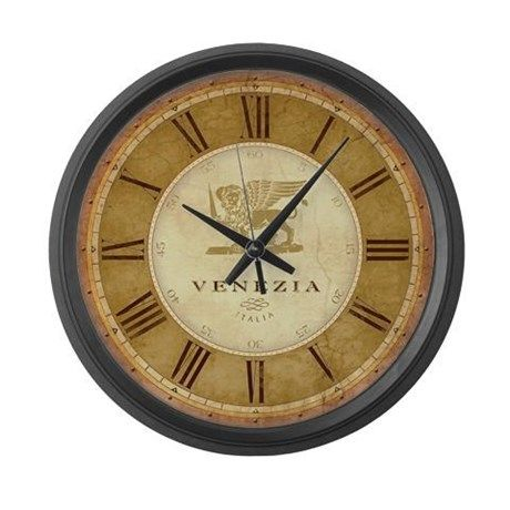Antique Italian Style Venetian Large Wall Clock On Cafepress