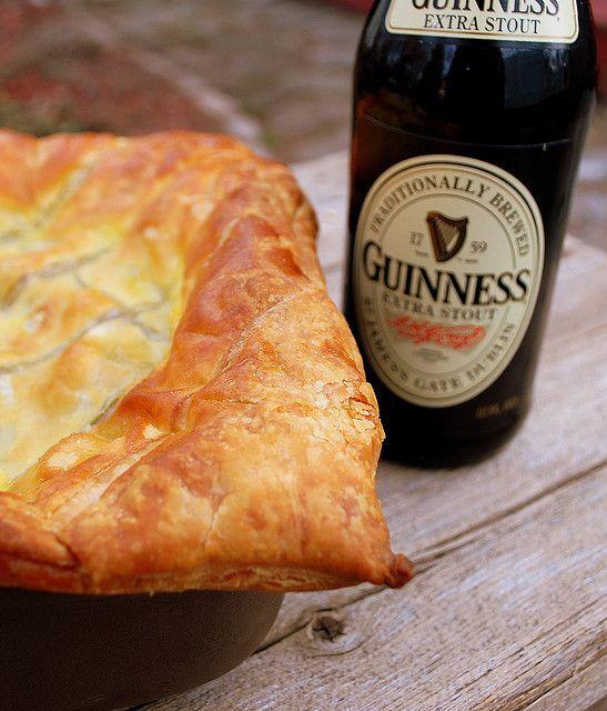 Steak & Guinness Pie | Guinness pies, Food, Irish recipes