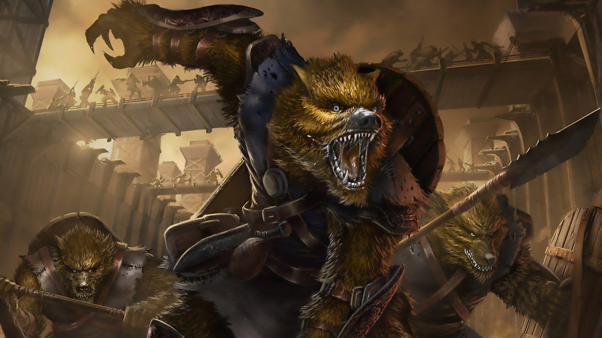 free werewolf wallpaper o oshka Pinterest