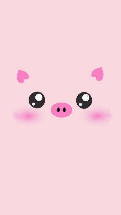 Image via We Heart It https://weheartit.com/entry/128502318/via/22479432 #animal #cuteface #kawaii #pig #phonewallpaper #maialino