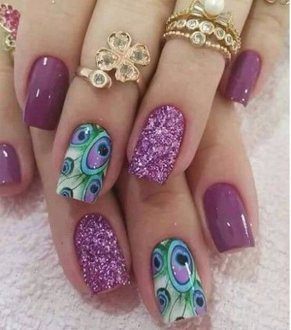 106 beautiful nail art designs to copy right now beautiful nail 100 beautiful nail art designs prinsesfo Gallery