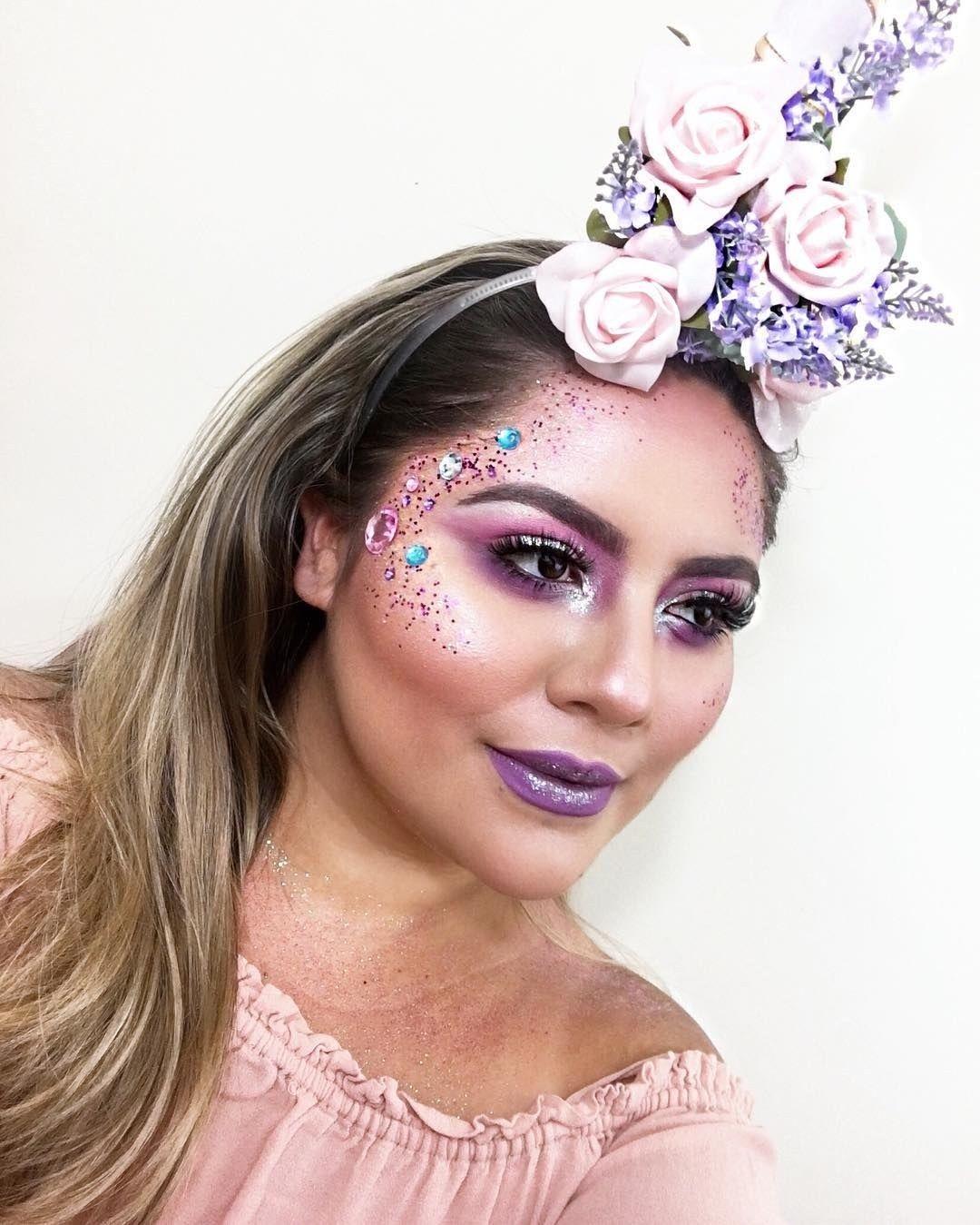 48cc979e34e6 41 Unicorn Halloween Makeup Ideas Perfect for 2018 | Unicorns ✨