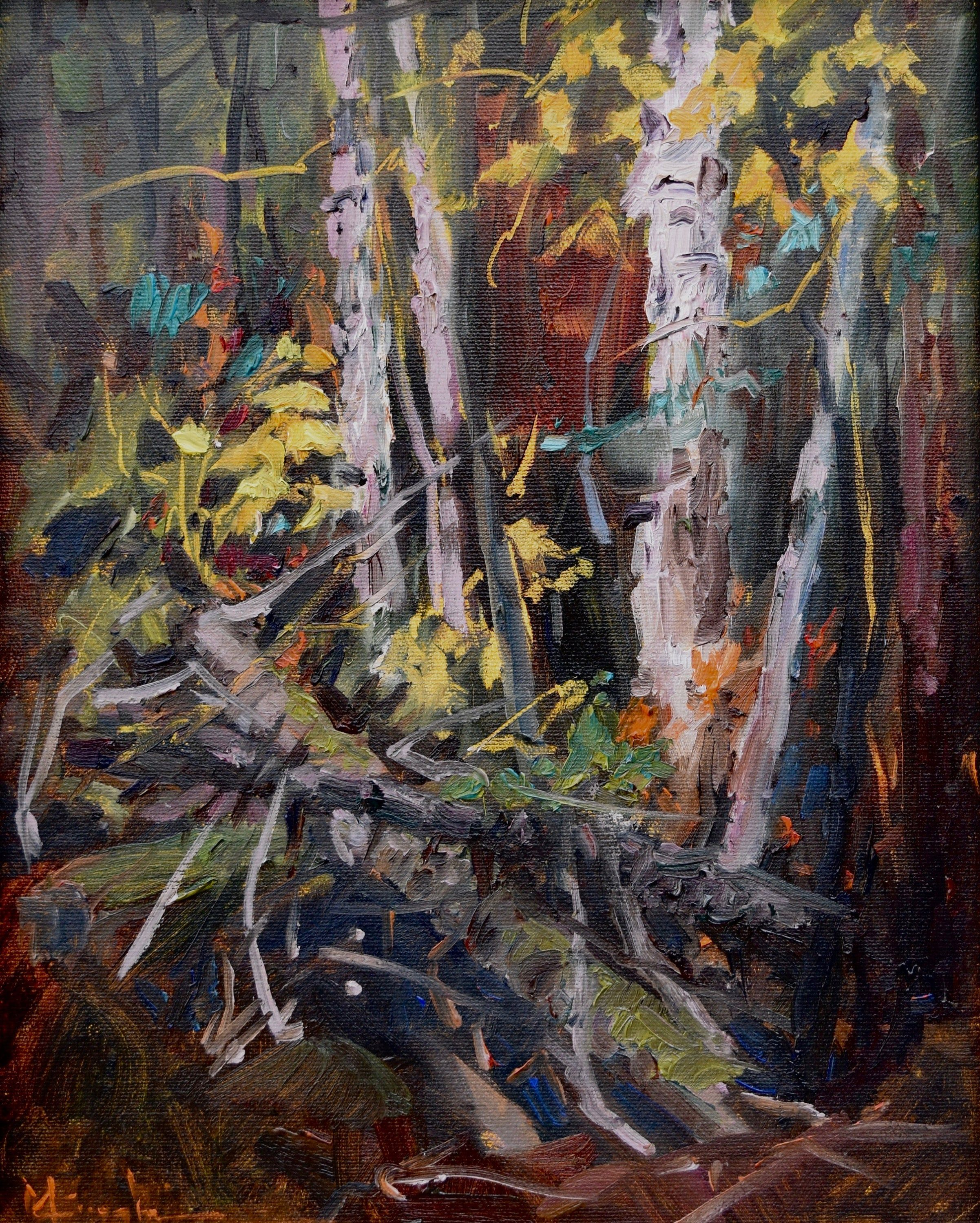 North Shore MN, Plein Air Landscape, Gunflint Trail