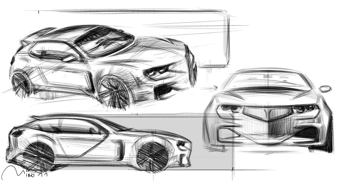 lancia-rally-sketch-03.jpg (1400×760) | Hot Sketches | Pinterest ...