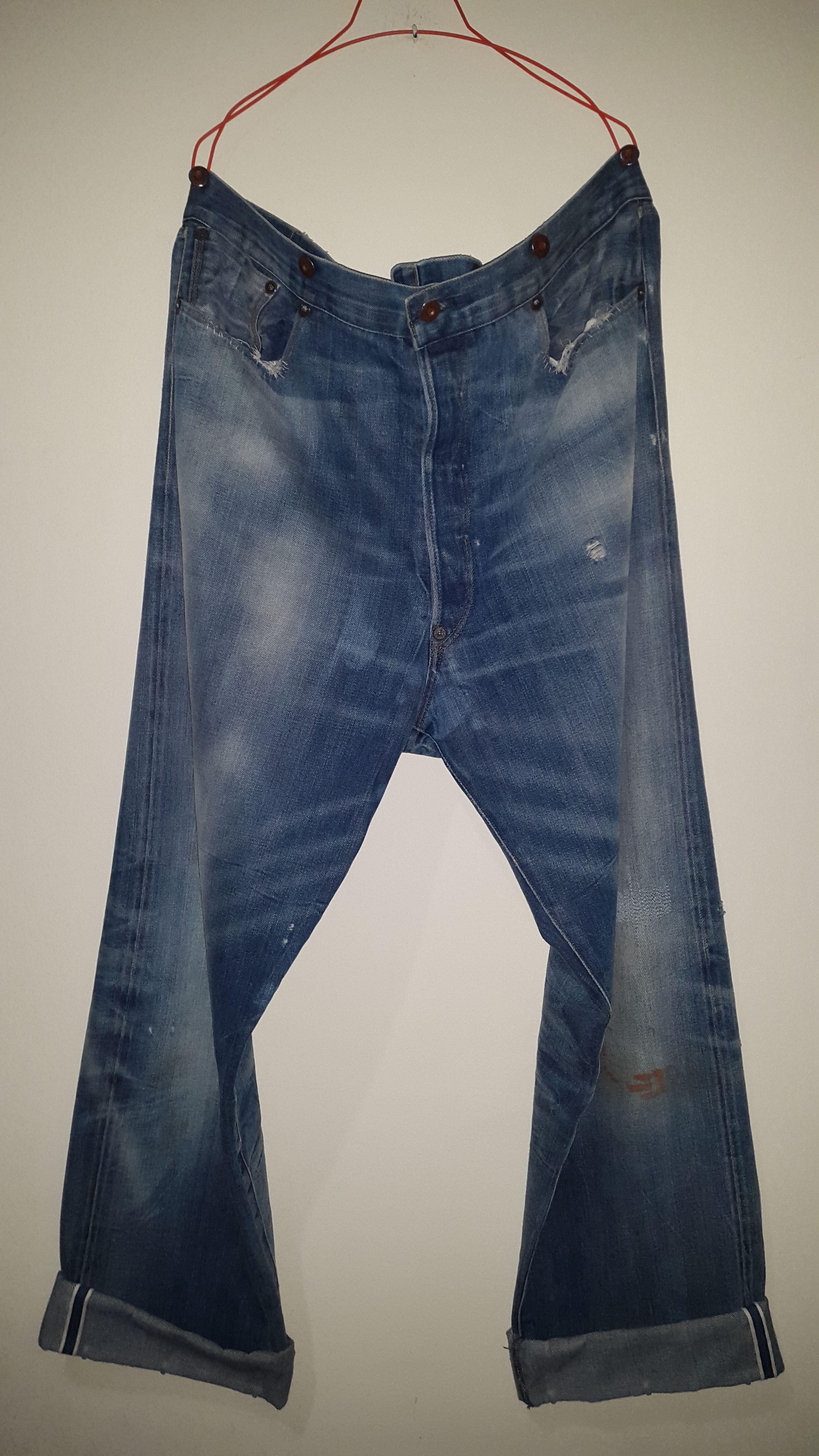 5fa9513fb92 ... Levi's Vintage Clothing Jeans - LVC oleh Andries Mamahit. LVC xx501  1890 barnyard - front side
