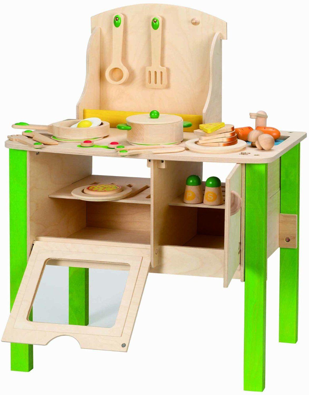 Hape Wanju 706920 Holzkuche Amazon De Spielzeug Cocinitas