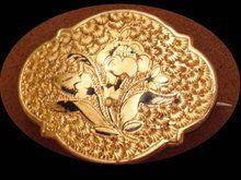 Vintage Victorian 10kt Gold Enamel Chatelaine Gold Enamel 10kt Gold Victorian
