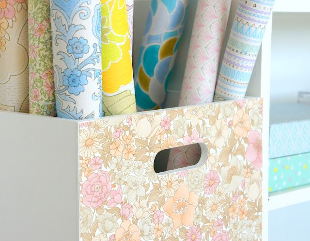 Anna Weinreich: New wallpaper storage box