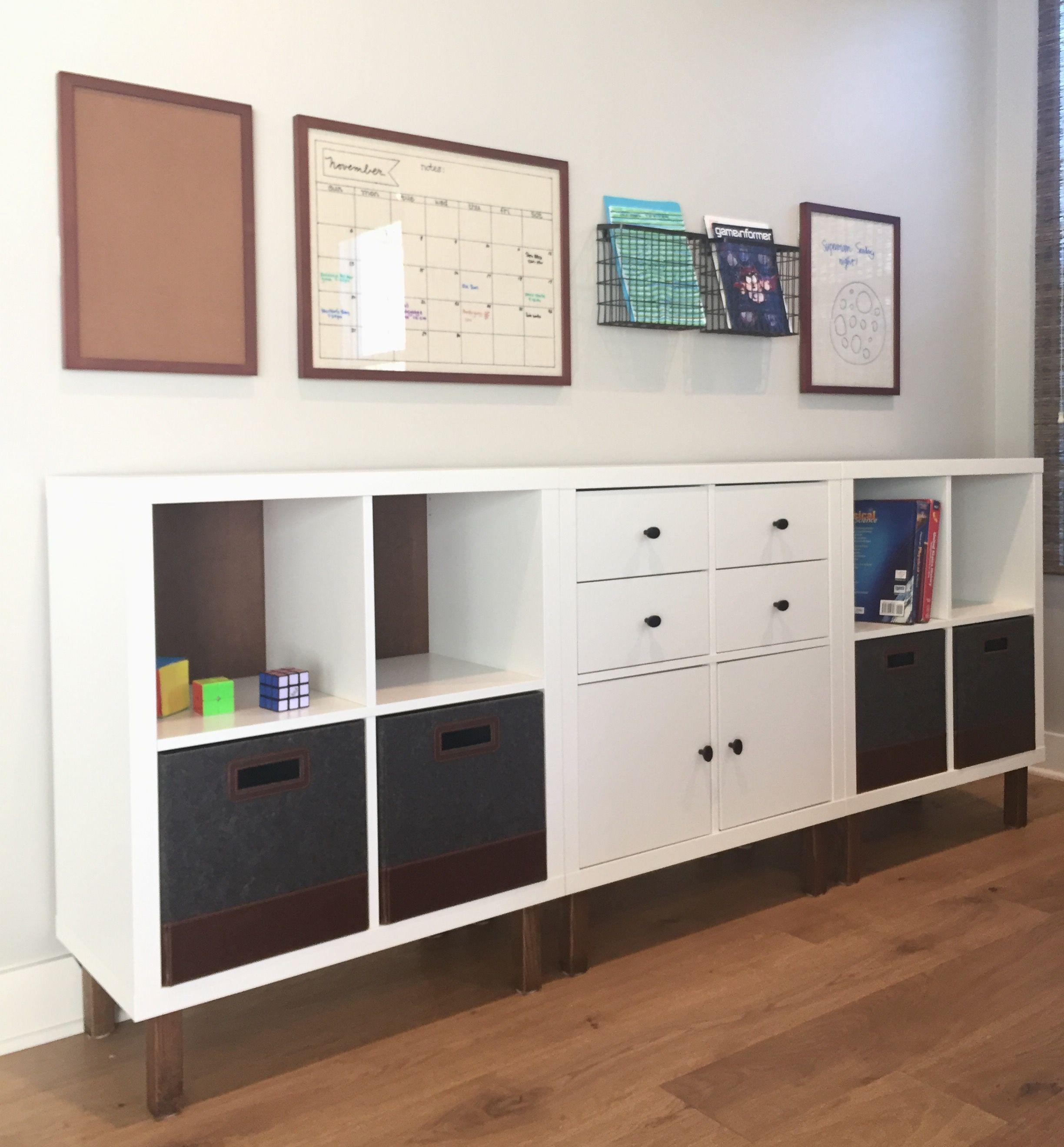 Ikea Hack Using Kallax Storage Cubes In 2019 Ikea Cubes