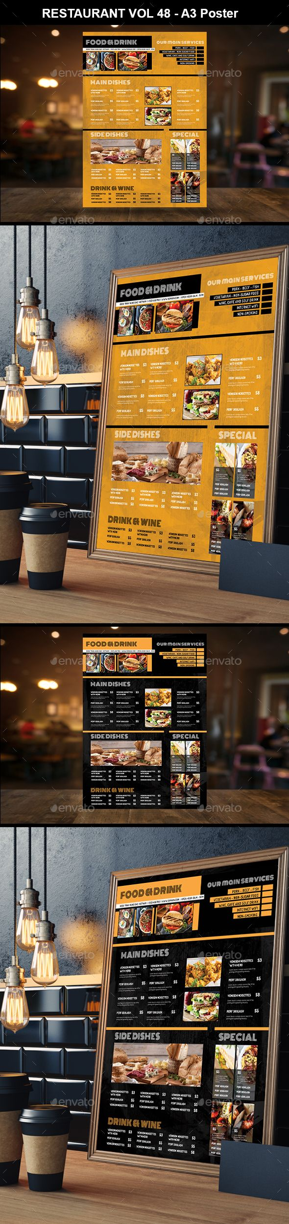 85 Board And Wall Menu Templates Ideas Menu Restaurant Menu Design Menu Restaurant
