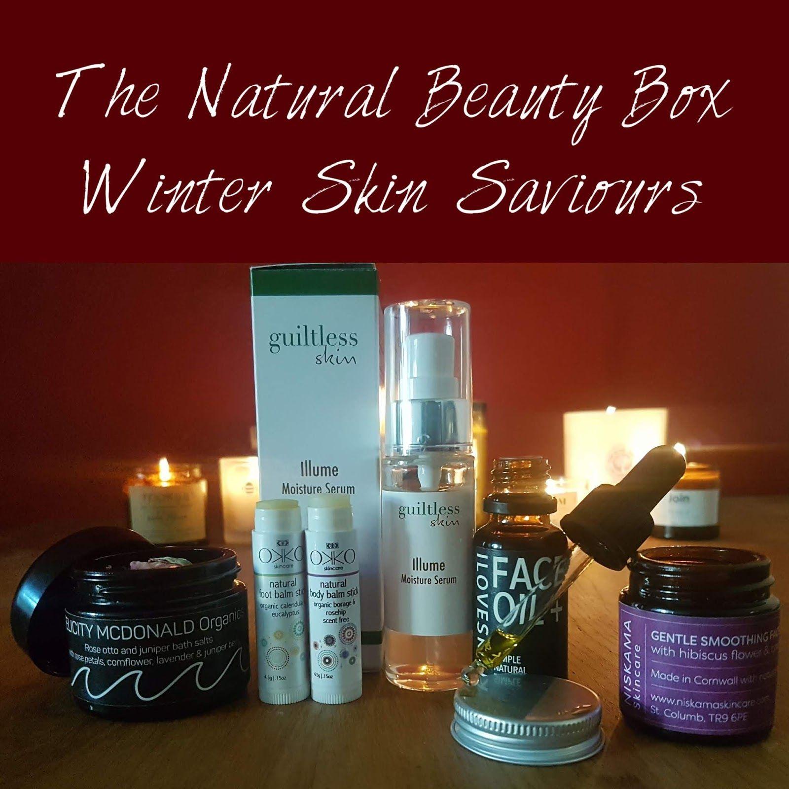 The Natural Beauty Box Winter Skin Saviours Review Natural