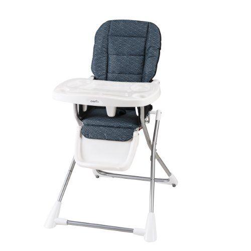 Evenflo Compact Fold High Chair Koi Evenflo Http Smile Amazon Com Dp B00gs1gz68 Ref Cm Sw R Pi Dp Ciywub165w7 Folding High Chair Best High Chairs High Chair