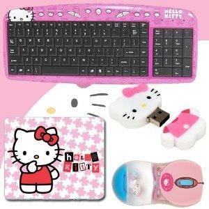 I found 'Hello Kitty USB Keyboard with Hot Keys #90309K (Pink) + Hello Kitty Bathtub Liquid Mouse #81409 + Hello Kitty 2 GB USB Flash Drive (Pink/White) #46009 + Hello Kitty 3D Mouse Pad (Pink) #74509 DavisMAX Bundle' on Wish, check it out!