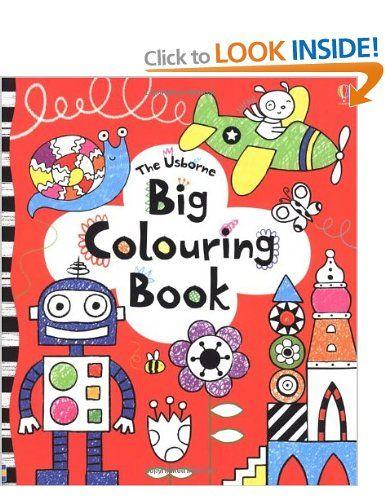 Big Colouring Book Usborne Colouring Books Amazon Co Uk Anna Milbourne Books Coloring Books Big Book Book Inspiration