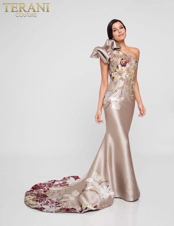 1811E6123 Mia Bella Couture | Evening dresses, Terani