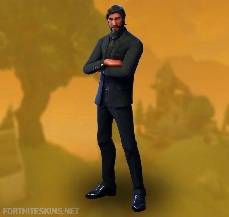 Fortnite Battle Royal Account John Wick Aka Reaper Mako Glider Fortnite Uk Game Reaper Skins Fortnite Reaper