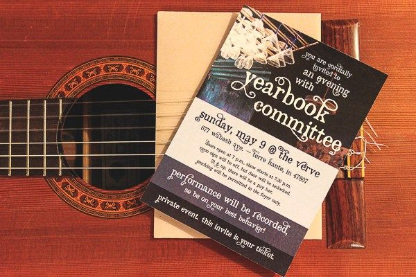 This indie folk band wanted a formal stationery piece for an intimate, invite-only musical performance. The final invite is engaging and classic.