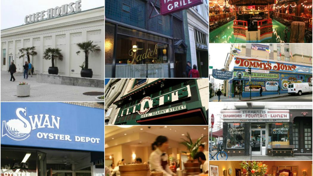 25 Classic Restaurants Every San Franciscan Must