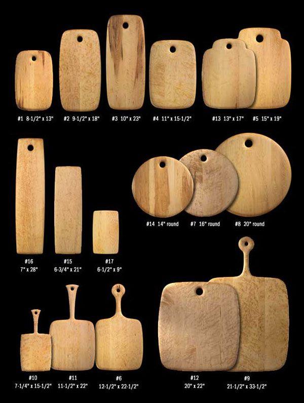 Tablas de cortar de madera. Para cortar y picar alimentos ...