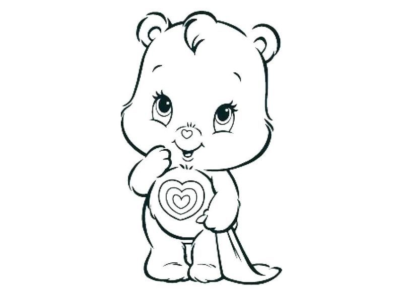 Printable Care Bear Coloring Pages For Your Kids Bear Coloring Pages Coloring Pages Cartoon Coloring Pages