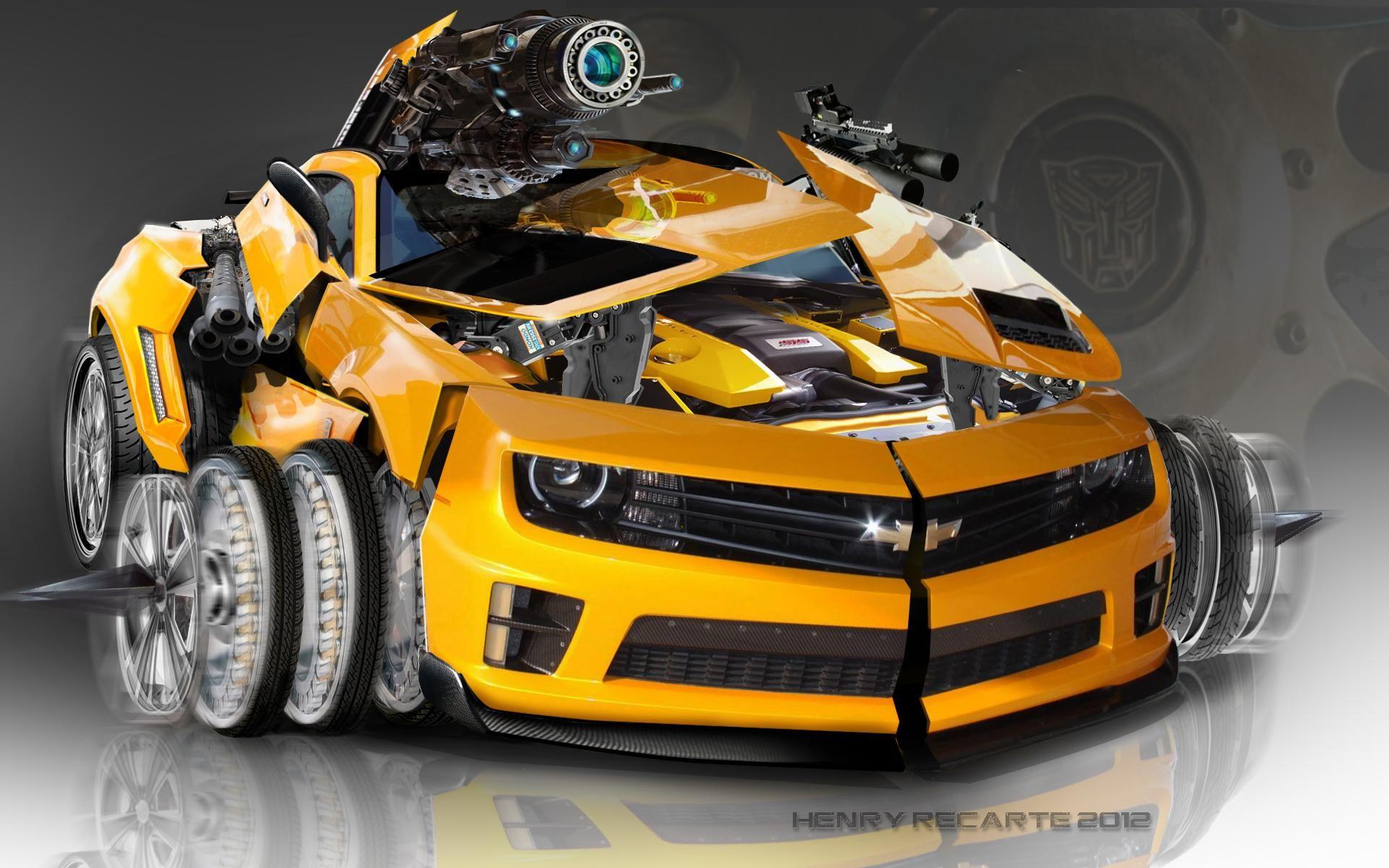 Bumble Bee Camaro Wallpaper | I love transformers | Pinterest