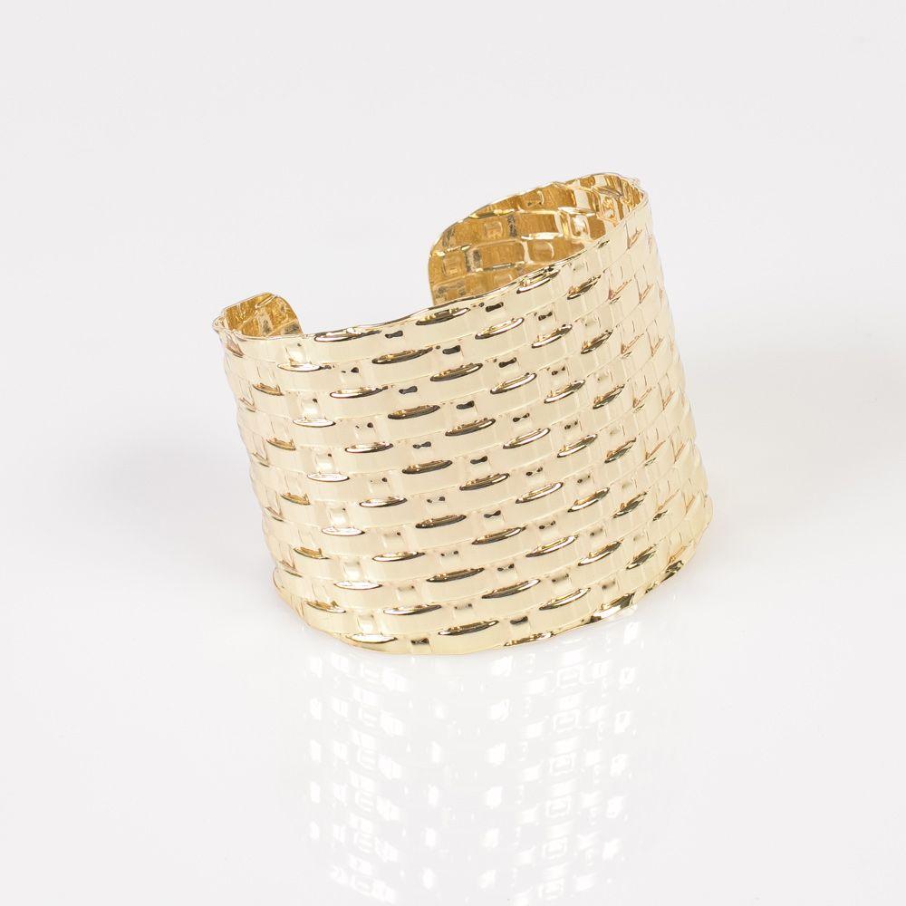 ¿Qué te parece esta pulsera estilo egipcio? Perfecta para una cena.