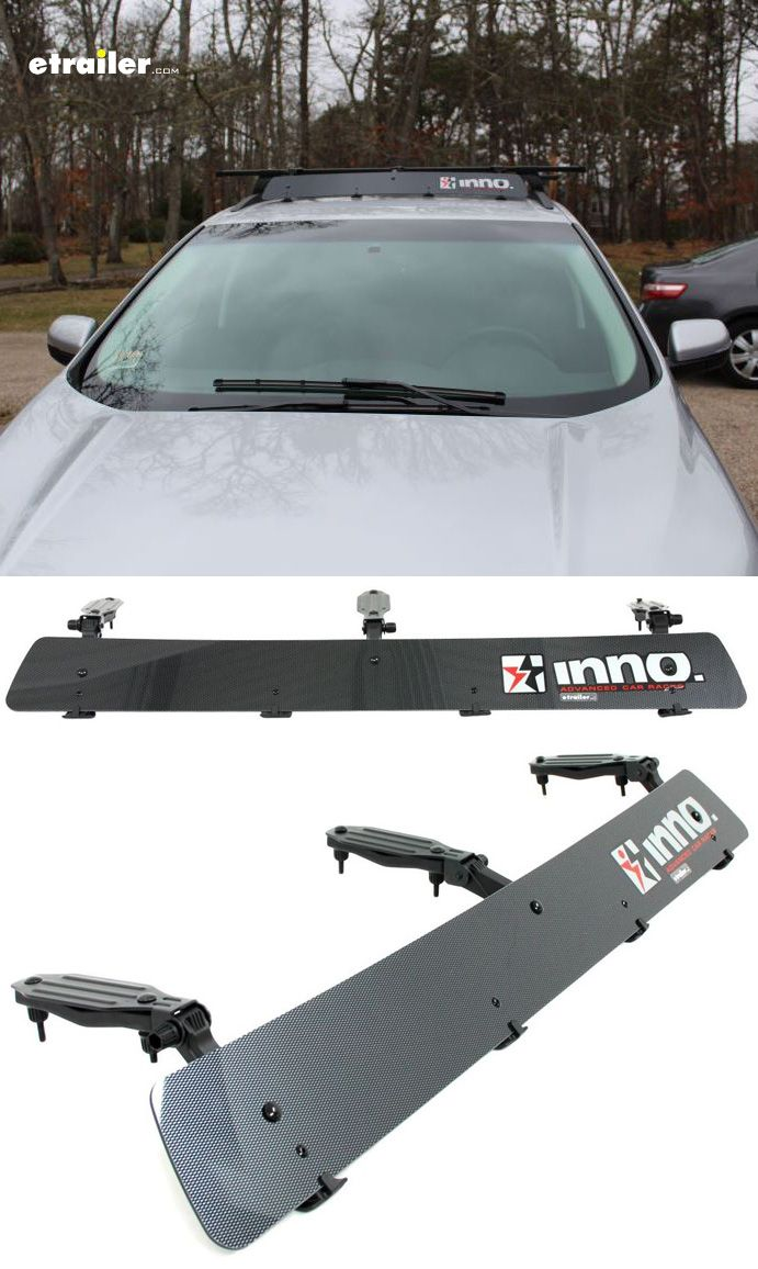 Inno Fairing For Roof Racks 40 Long Carbon Fiber Inno Accessories And Parts Ina271 Roof Rack Roof Rack Basket Carbon Fiber