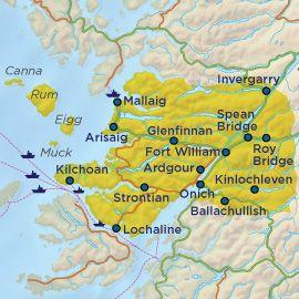 Tour De Ben Nevis Route Map