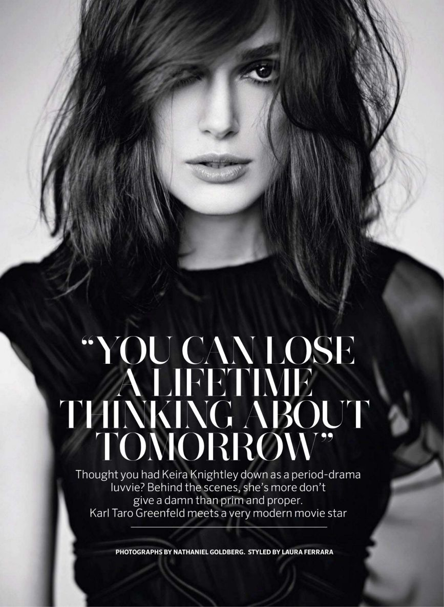 Keira Knightley @ Marie Claire, UK, May 2013