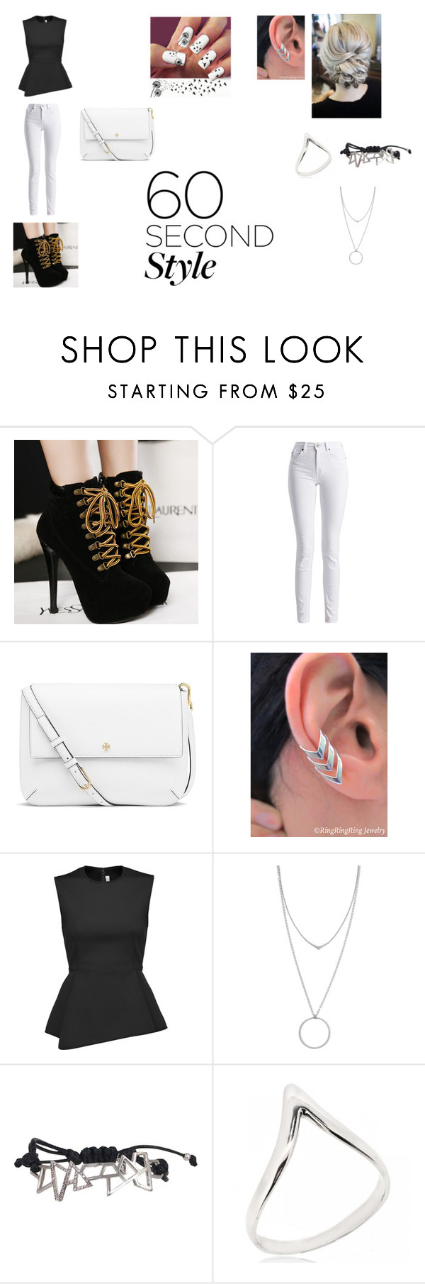 """""""#60secondstyle #jobinterview"""" by izzcampbell ❤ liked on Polyvore featuring Barbour International, Tory Burch, Alexander Wang, Botkier, Ona Chan, jobinterview and 60secondstyle"""