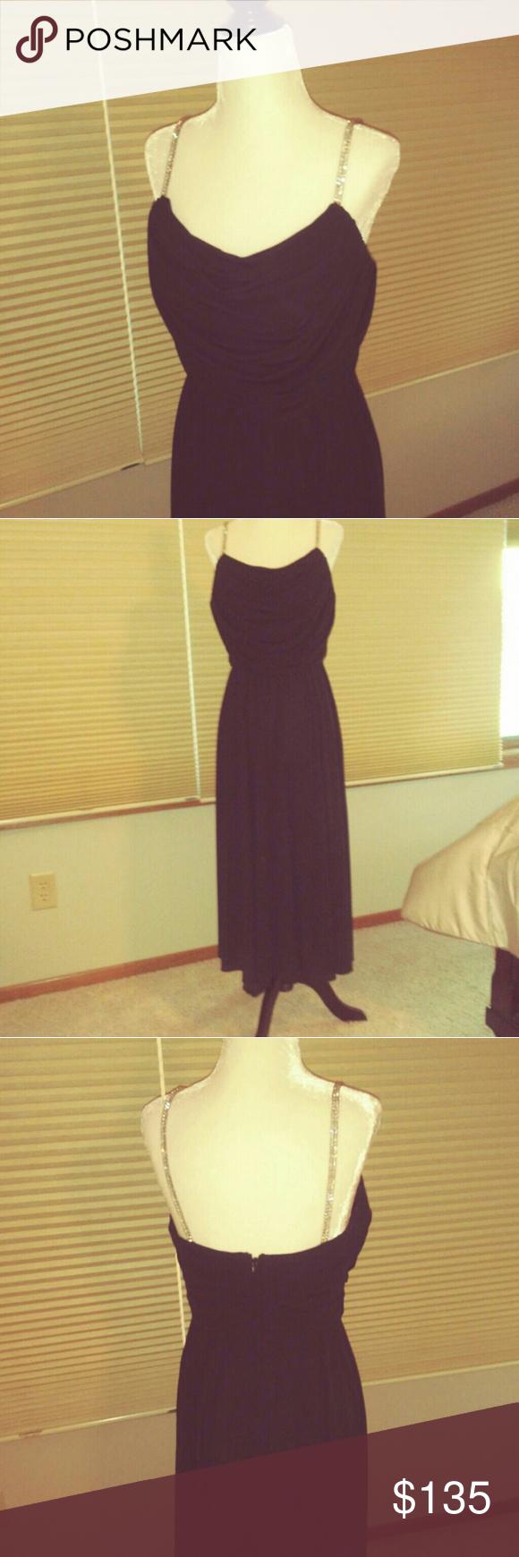 Rimini black formal dress euc in my posh picks pinterest