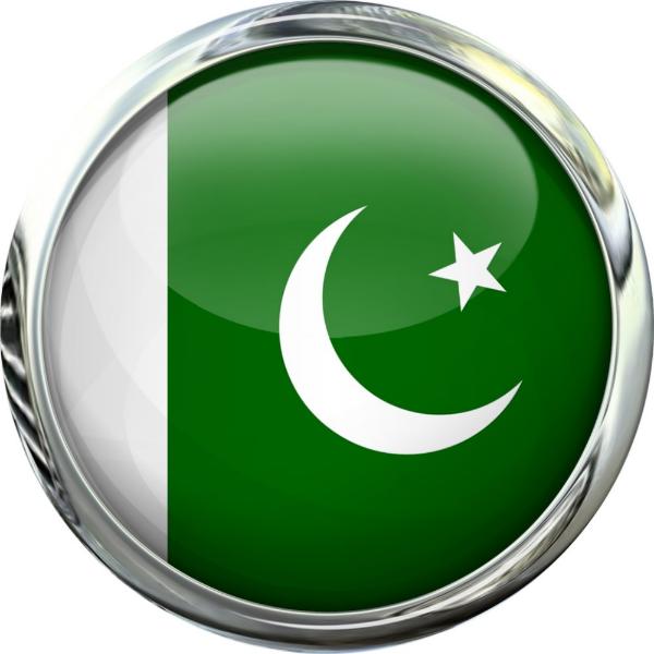 Pakistan Flag Round Glass Ball Classic Round Sticker Zazzle Com Pakistan Flag Round Stickers Glass Ball